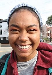 "Haya Allen, 18, of Richmond: ""I'm grateful and thankful for my parents."""