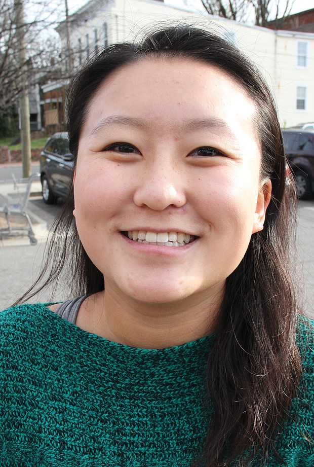 """Janice Mun, 18, of Richmond:  """"All of the opportunities I have been given this year and being in college."""""""