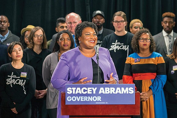 ATLANTA Stacey Abrams broke the rules of politics until the very end. The Georgia Democrat, who came about 60,000 votes ...