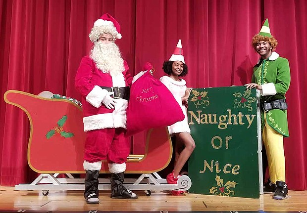 Students at Bloom High School are preparing to open their fall production of Elf The Musical Jr. Photo Credit: Bloom High School Drama Club