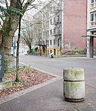 The campus of Portland State University.