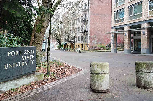 Authorities are investigating the death of a man who was restrained by both Portland State University and city of Portland ...
