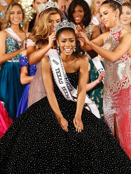 Kennedy Edwards is the newly crowned Miss Texas Teen USA 2019