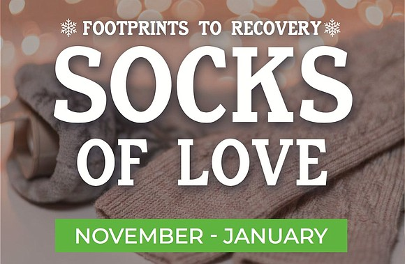 Footprints to Recovery clients and alumni process incoming donations and coordinate their delivery. Each treatment facility will provide socks to ...