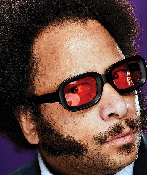 "Boots Riley, writer and director of the independent film ""Sorry to Bother You,"" will talk about his film following a ..."