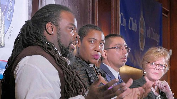 The City Club of Chicago recently hosted Eddie Bocanegra, John Hardy, and Asiaha Butler in a panel discussion to talk ...
