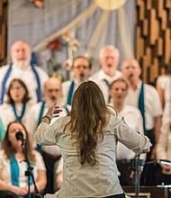 The Portland Peace Choir brings songs of peace, tolerance, love, acceptance and equality to anyone who wishes to come sing or to listen to the music.