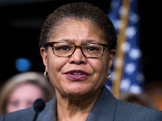 Rep. Karen Bass (CA-37) has been elected to chair the Congressional Black Caucus..
