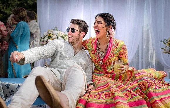 Actress Priyanka Chopra shared photos and video on Tuesday of her breathtakingly beautiful wedding to singer Nick Jonas.