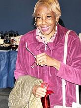 Shopper Carolyn Hall