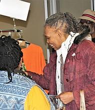 Former Delegate Salima Marriott