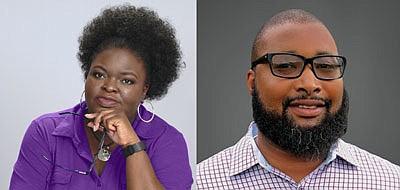 Young adult author Kamichi Jackson (left) and author Kyle Berkley (right) will be at the Barnes and Noble - Inner Harbor location on Saturday, December 8, 2018 from 2 p.m. to 4 p.m.