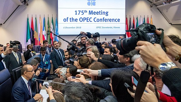 OPEC is still debating how much oil it should remove from world markets following a price crash in recent months.