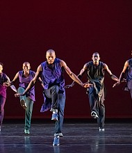 "Alvin Ailey American Dance Theater performs Rennie Harris' ""Lazarus."""