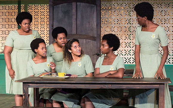 """Ghanaian-American writer Jocelyn Bioh has created a powerful, funny, touching story in """"School Girls: Or, The African Mean Girls Play."""""""