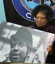 This year marks the 49th anniversary death of Black Panther leader Fred Hampton Sr. and his widow Akua Njeri, alleges he was murdered by Chicago police who raider their Westside home and shot him to death. (Photo by Wendell Hutson)
