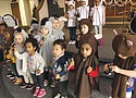 Children from Sonbeam Daycare at Temple Baptist Church in northeast Portland are all dressed up for the holiday season as they participate in their annual Christmas program last week.