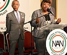 Gwen Carr and Rev. Al Sharpton