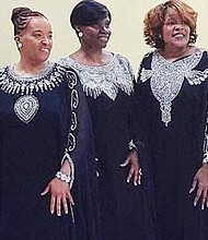 """Baltimore's own, renowned gospel recording artists, """"Serenity"""" headlines Ursula Battle Musical Production """"A Christmas Miracle"""" on Saturday, December 15 and Sunday, December 16 at One God One Thought Center at 3605 Coronado Road in Windsor Mill, Maryland. For more information, call 443-531-4787."""