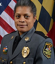 Lieutenant Colonel Lucy Lyles is the first African American female to hold the rank of lieutenant colonel in the  Maryland Transportation Authority.
