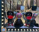 "Prada's ""Pradamalia"" figures at its SoHo location"