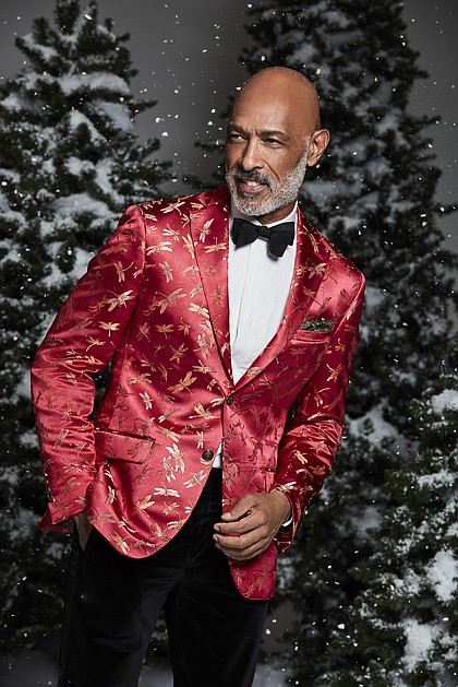 Tallia Men's Slim-Fit Dragonfly Jacquard Dinner Jacket $350