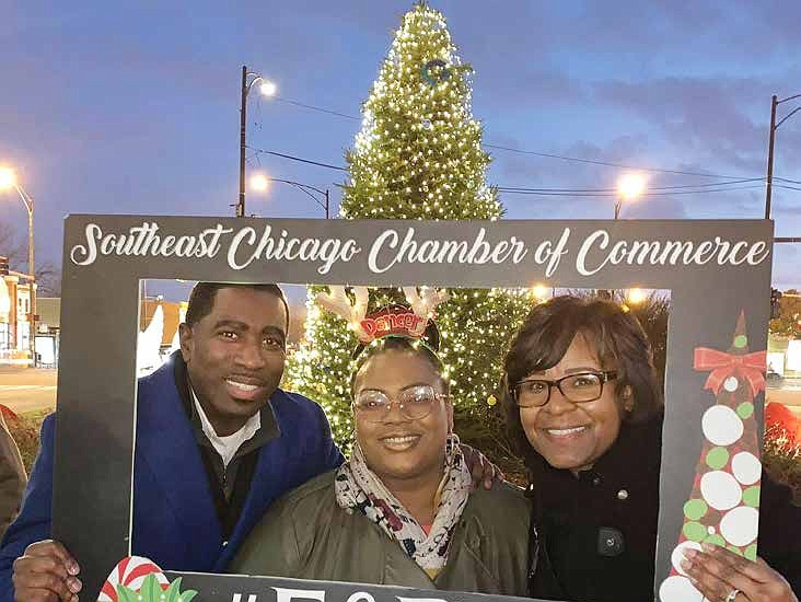 Christmas In Chicago 2018.Holiday Lights Make An Impact On Chicago S South Side