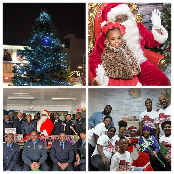 Black People Christmas Pictures.Christmas Celebrated Across The City New York Amsterdam