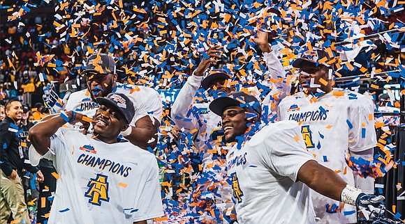 The crown for black college football will rest with North Carolina A&T State University in Greensboro, N.C., at least until ...