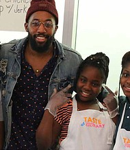 The Gary Comer Youth Center recently hosted the youth-led Taste of Comer culinary event. Photo Credit: Provided by Gary Comer Youth Center