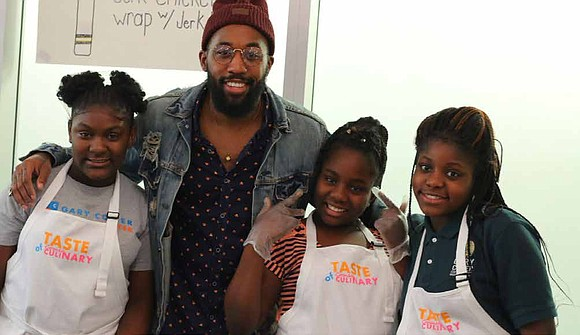 Middle school students from the Gary Comer Youth Center's Seed to Table Cooking Club recently hosted their first Taste of ...