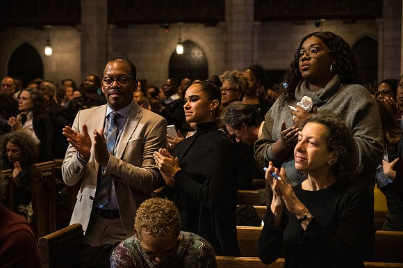 Arthur Mitchell's larger-than-life spirit filled the hallowed halls of Riverside Church as an overflow crowd paid tribute to a life ...