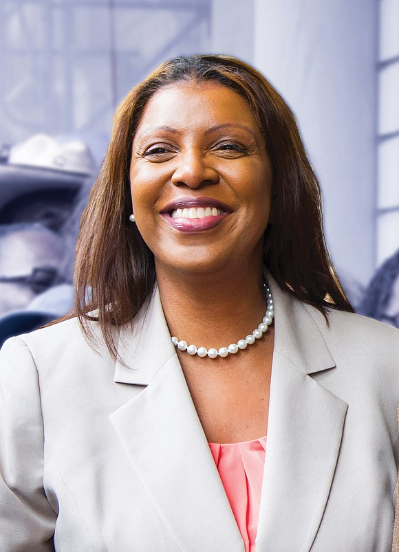 """Attorney General-elect Letitia """"Tish"""" James was a teenager when she saw her brother unjustly arrested for a crime he didn't ..."""