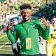 Kayvon Thibodeaux of southern California has picked the University of Oregon Ducks to play football next year. He is the top overall college football prospect in the country as rated by ESPN.