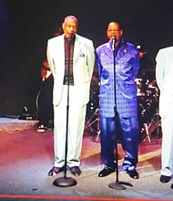 """Wilson's Blue Philly Magic and Special Blendz, both R&B and Soul Groups will perform at the Forest Park Senior Center, 4801 Liberty Heights Avenue for a """"Holiday Party Cabaret on Saturday, December 29, 2018 starting at 9 p.m."""