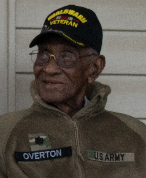 Richard Overton, America's oldest World War II veteran and the oldest man in the United States, died Thursday afternoon at ...