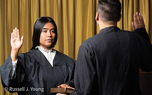 Portland's Milagro Theatre presents 'Judge Torres,' an original play based on a true story about Xiomara Torres who rose from humble beginnings as an undocumented foster child to becoming  the most recent female Latina judge in Multnomah County.
