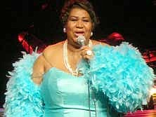 """""""Our History Today, An African American Journey,"""" Is produced by the Chicago-based company, The Educational Network. The calendar serves as a national fundraising vehicle for Historically Black Colleges and Universities (HBCUs), showcases 12 such institutions, and lists nearly $1 million in available scholarships. One of this year's notable African Americans featured in the calendar includes music legend Aretha Franklin (pictured). Photo by Ryan Arrowsmith"""