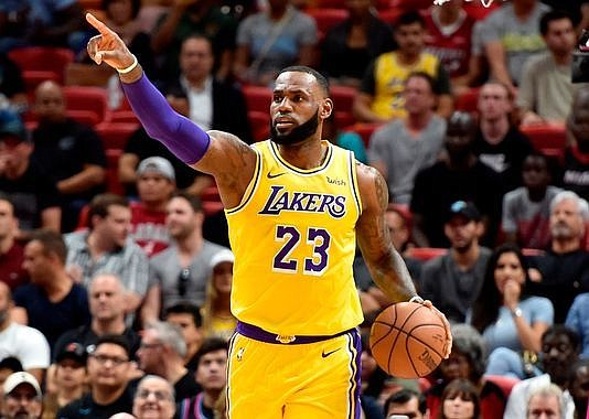 Although he's been sidelined for the next several games with a groin injury, it hasn't overshadowed the moves LeBron James ...