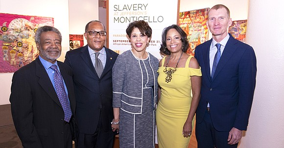 Slavery at Jefferson's Monticello: Paradox of Liberty at the African American Museum in Fair Park presents a view of slavery ...
