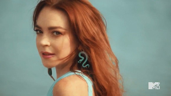 "Lindsay Lohan makes references to proper behavior on movie sets and dealing with directors in ""Lindsay Lohan's Beach Club,"" which ..."