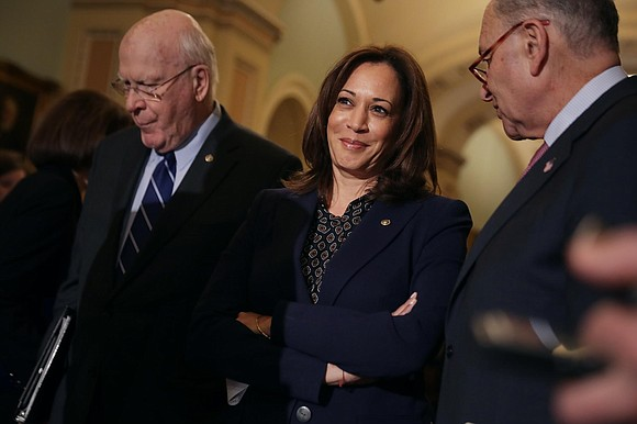Sen. Kamala Harris' unique biography and unlikely political ascent might have been summed up best by a political strategist who ...