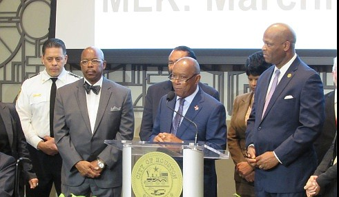 Ever since Sylvester Turner has been mayor of the city of Houston he has strived to have one official Martin ...