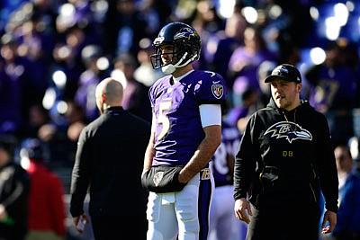Baltimore Ravens starting quarterback Joe Flacco's last game action came in week 9 in the Ravens 23 - 16 loss to the Pittsburgh Steelers. Not only did Flacco give Baltimore a Super Bowl title, he was also part of various community outreach activities and became a beloved athlete in the city.