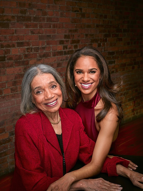 Raven Wilkinson, the first African-American woman to be admitted to a major American ballet company, the Ballet Russe de Monte ...