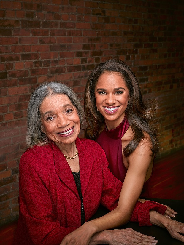 Raven Wilkinson with Misty Copeland
