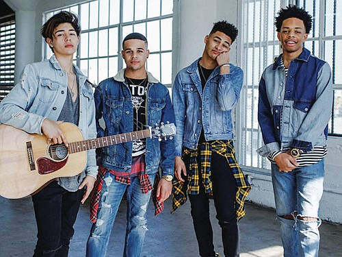 Cam, Mikey, Marcus and Jaden – four soulful singers ages 17 to 20, who met on the hit ABC show ...