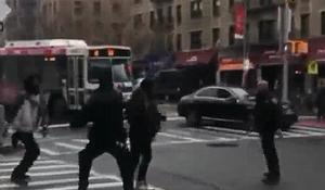 Police involved brawl in Washington Heights