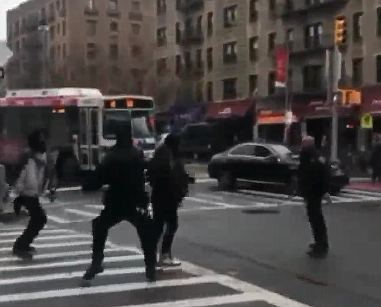 Police involved brawl in Washington Heights