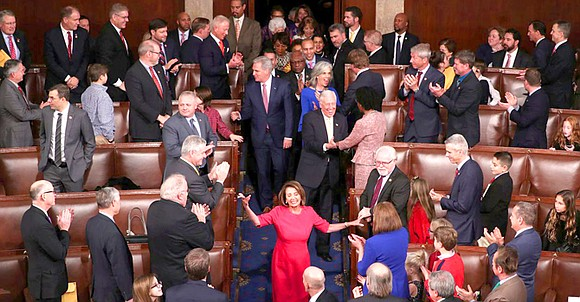 With the backing of Texas' congressional Democrats, Nancy Pelosi on Thursday became the first U.S. House member to recapture the ...